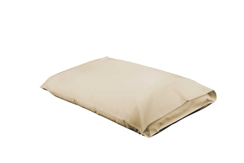 Hypo Allergenic Tan Pillowcase