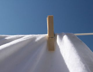 Line Drying Bed Sheets
