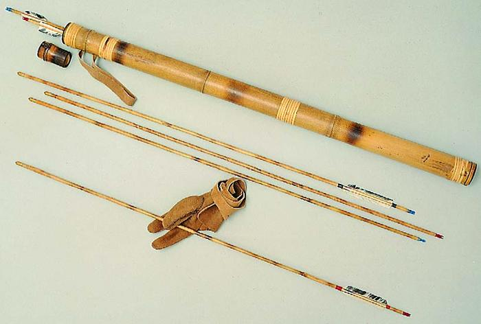 Bamboo Products - Quiver and Arrows