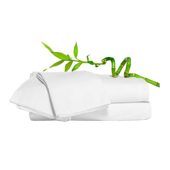 Hypoallergenic White Bamboo Sheets