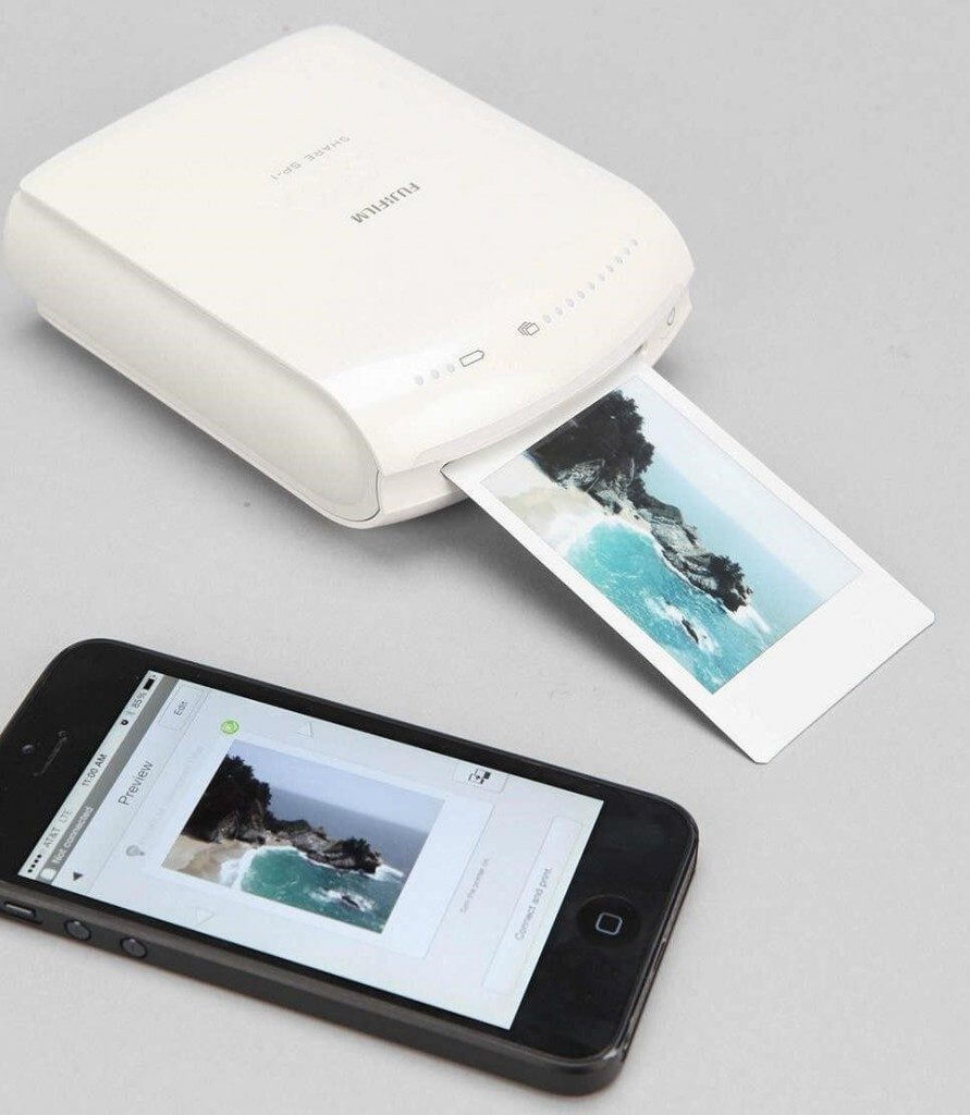 A white smart printer as one of a unique gift ideas