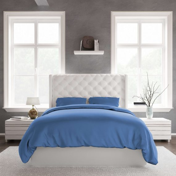 Duvet Set DarkBlue Front