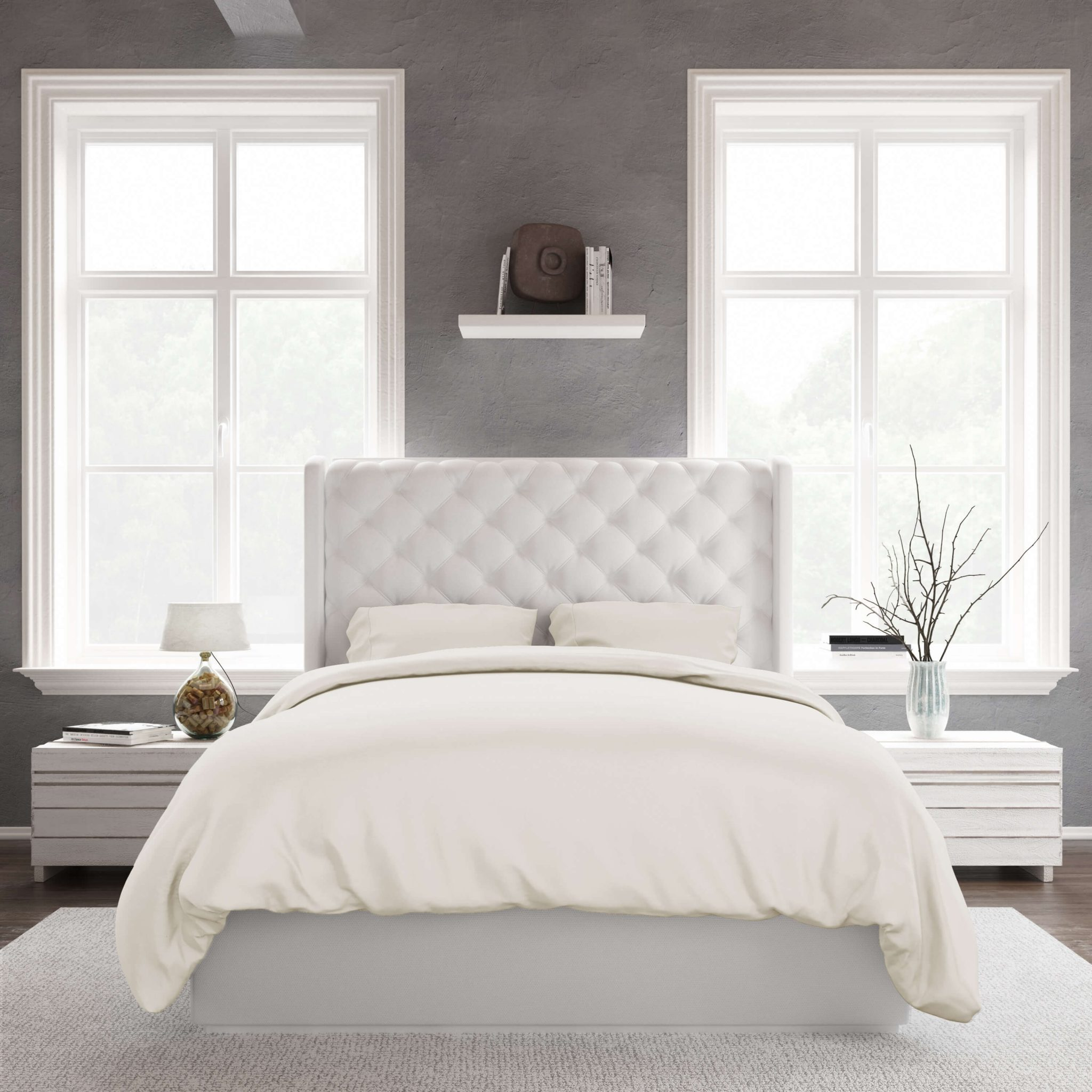 Bamboo Duvet Covers King Size Amp Queen Size Ivory