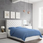 Bamboo Duvet Set Dark Blue 320 Side