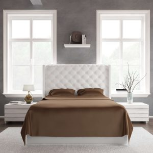Bed Sheet Set Chocolate Front
