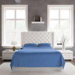 Bed Sheet Set DarkBlue Front