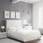 Bed Sheet Set_White_Side