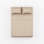 Tan Bed Sheet Set