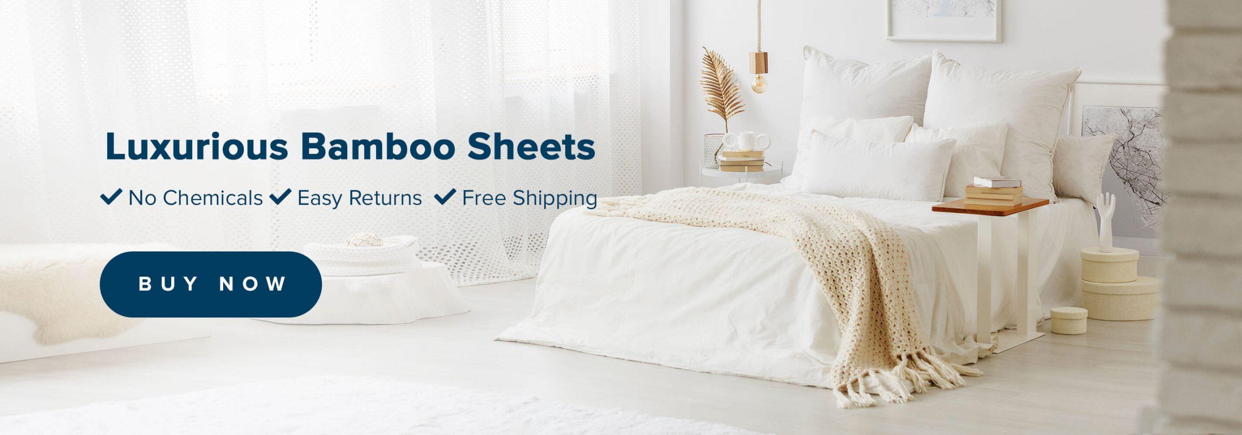 Luxurious Bamboo Sheets